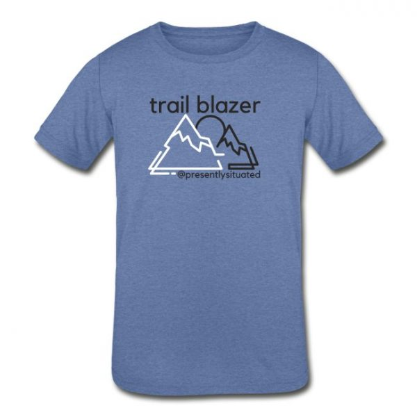 Trail blazer Youth Tri-Blend T-Shirt