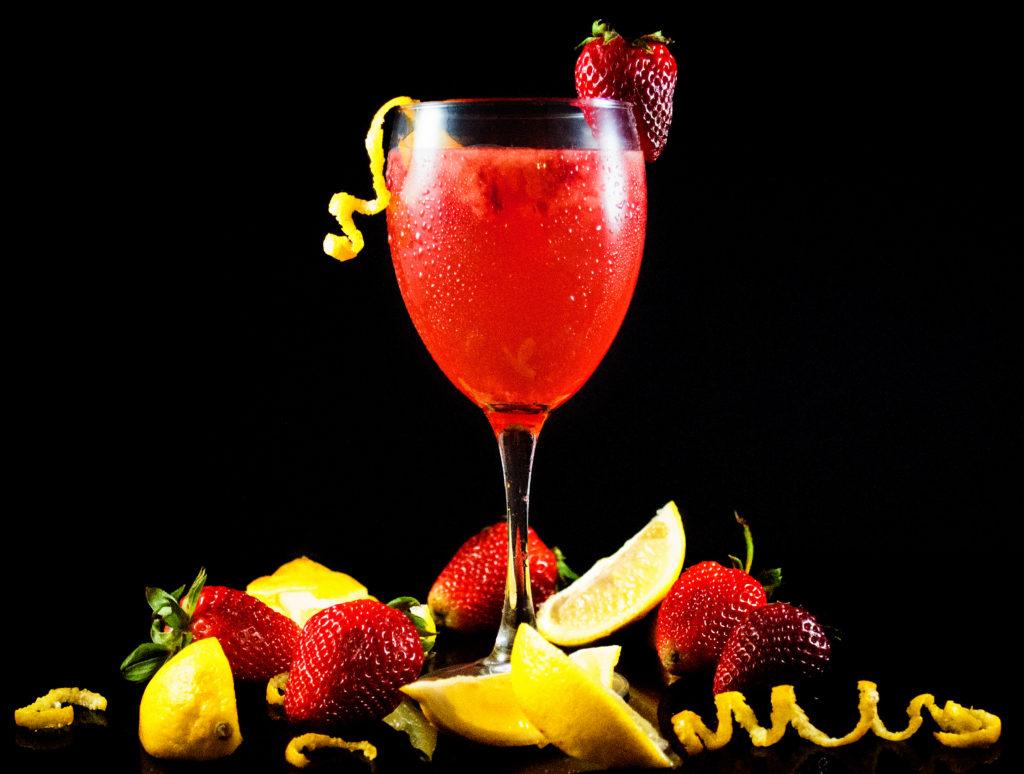 Sweet Strawberry Lemonade