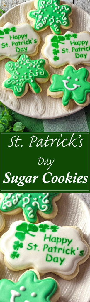 Adorable St. Patrick's Day Sugar Cookies