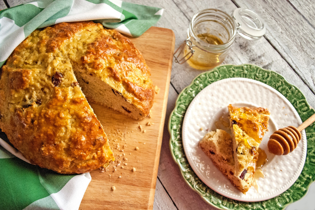 Irish Honey Breakfast Bread