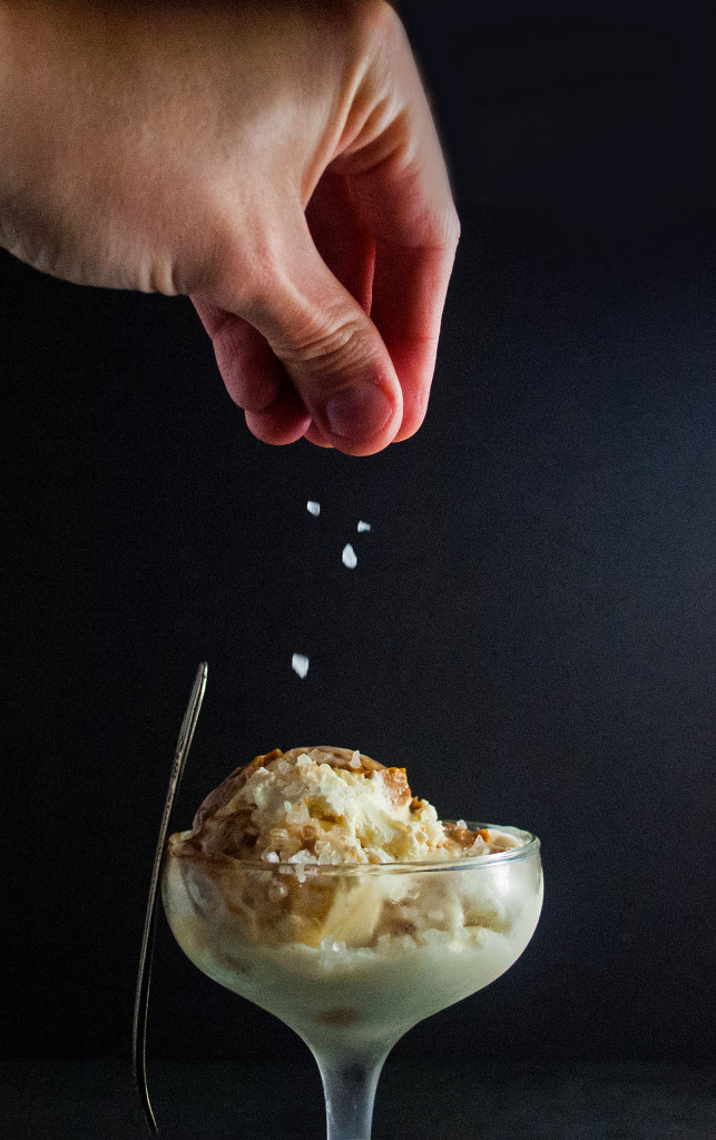 No Churn Salted Caramel Ice Cream