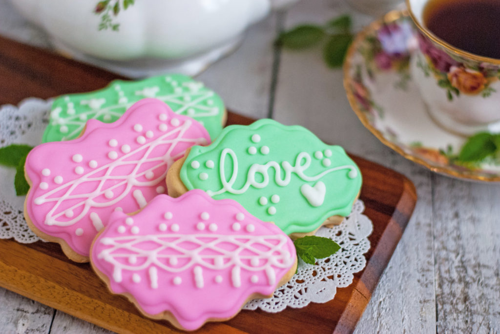 Soft Tea Party Cookies