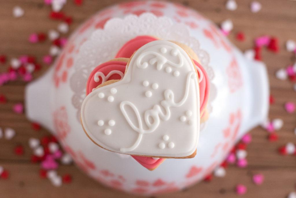 Soft Valentine's Day Sugar Cookies