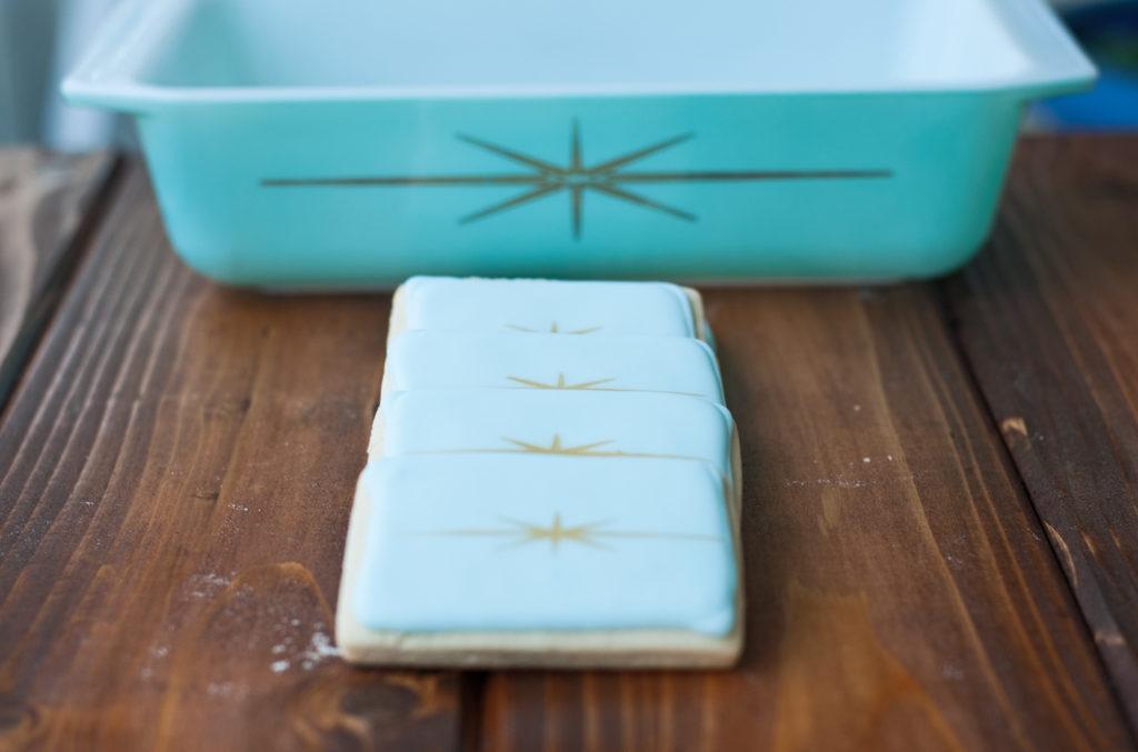 Pyrex Starburst Cookies