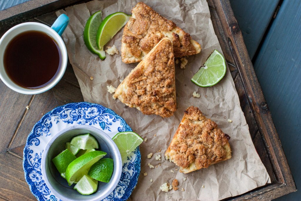 Key Lime Pie Scones