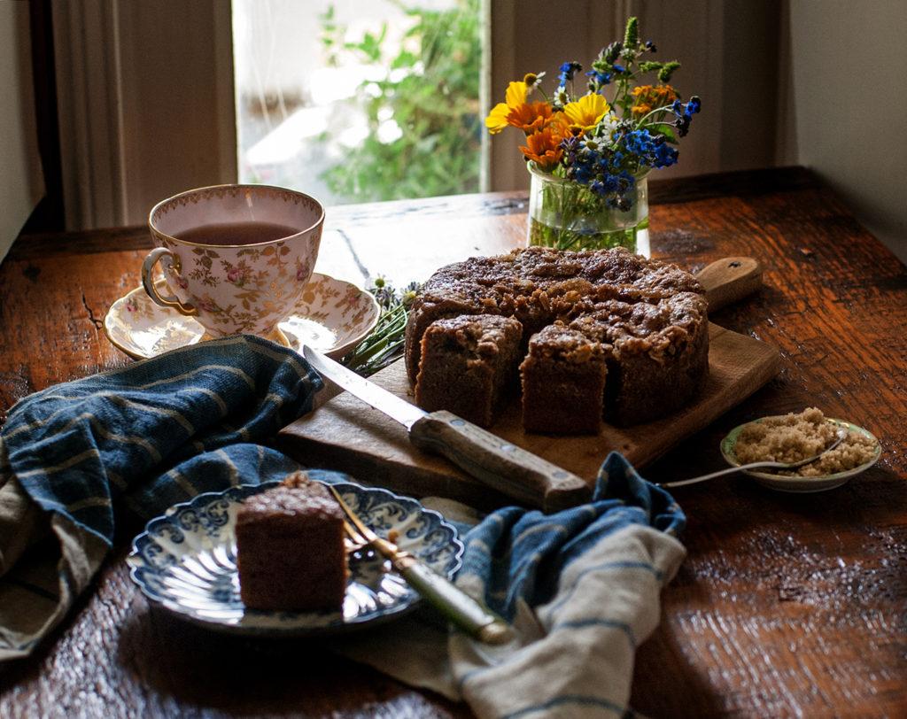 Zucchini Tea Cake