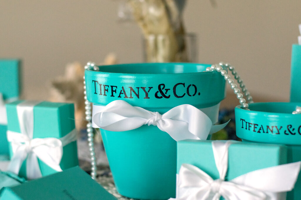 Tiffany and Co. Flower Pots