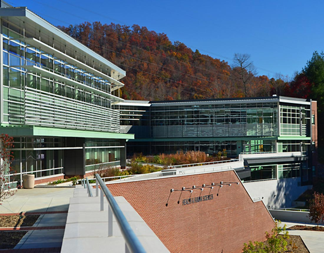 WCU Health and Science Building