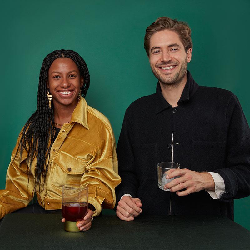 Alex & Dee - co-founders of Avec