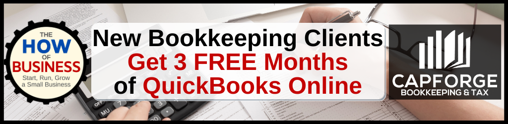 CapForge Bookkeeping Services - Special Offer
