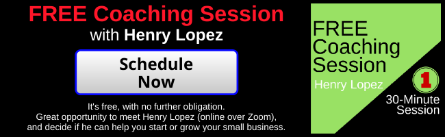 Free Small Business Coaching Consultation