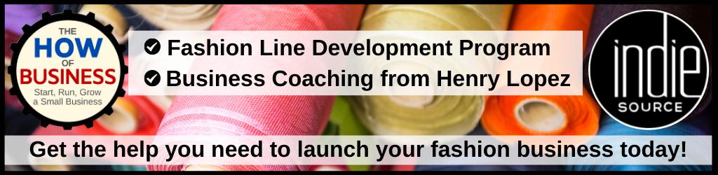 Indie Source Fashion Line Development Program