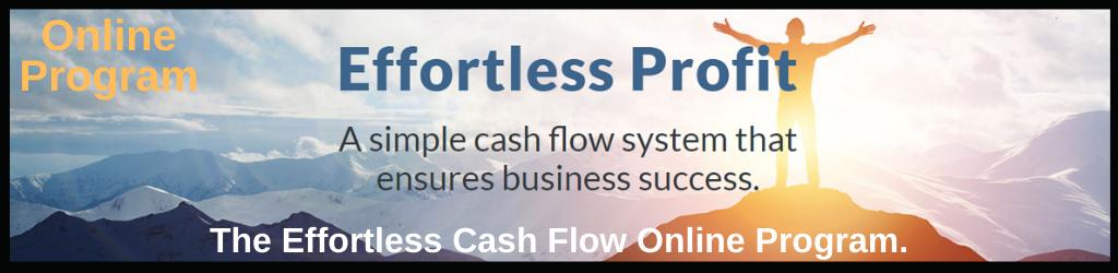 Effortless Cash Flow Online Program