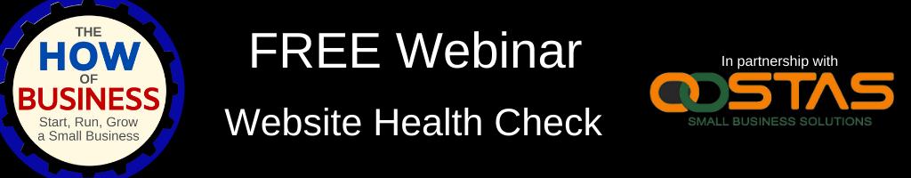 Website Health Check Webinar