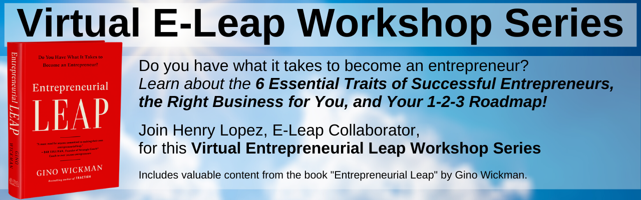 Virtual E-Leap Workshop Series
