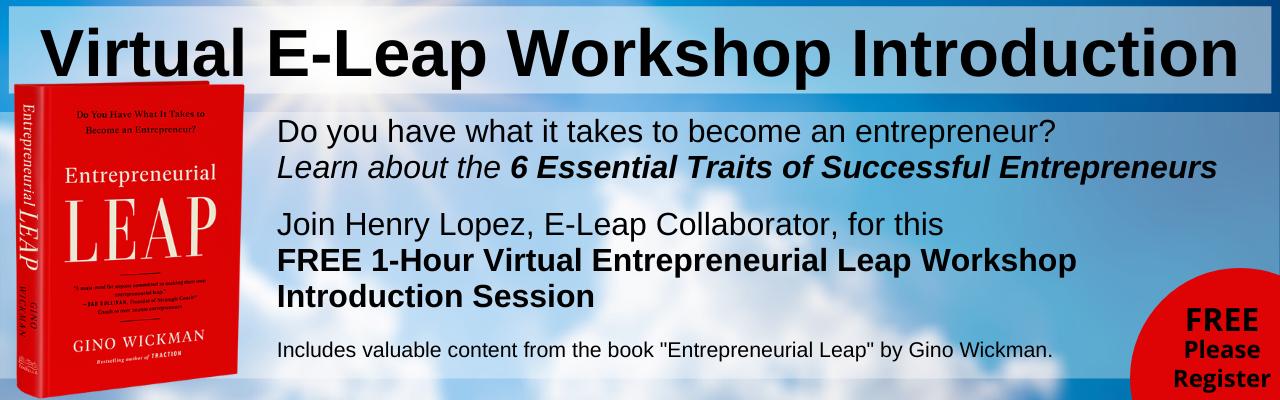 Virtual E-Leap Workshop Introduction