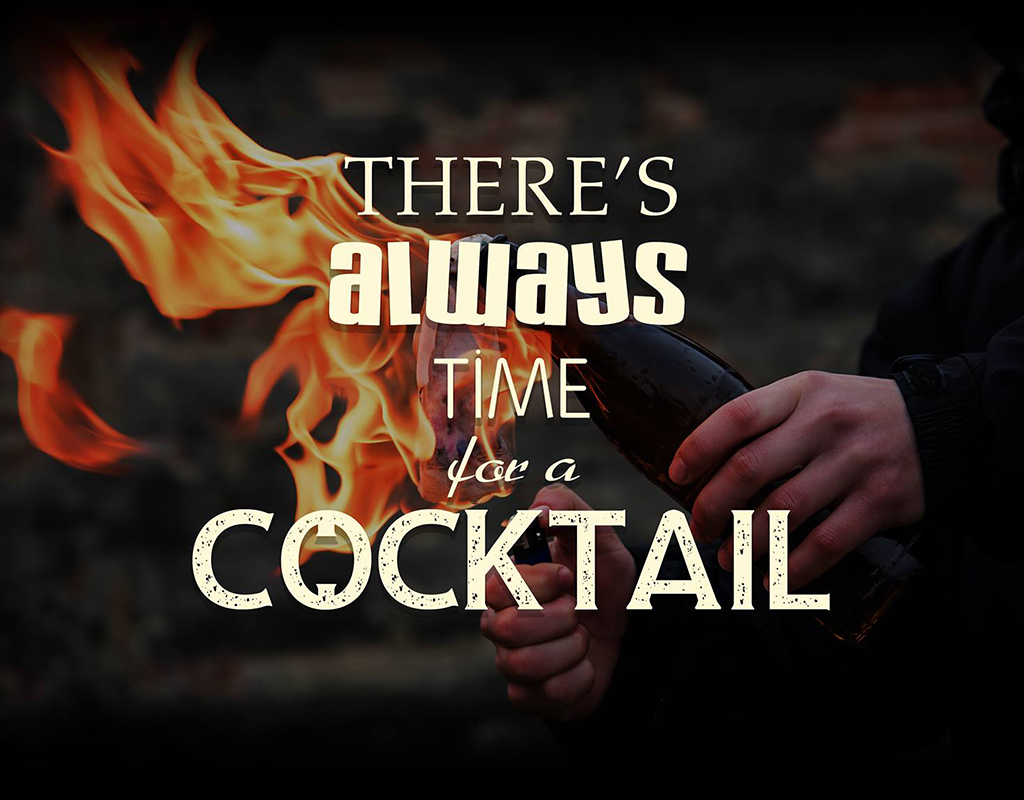 There's Always Time for a Cocktail