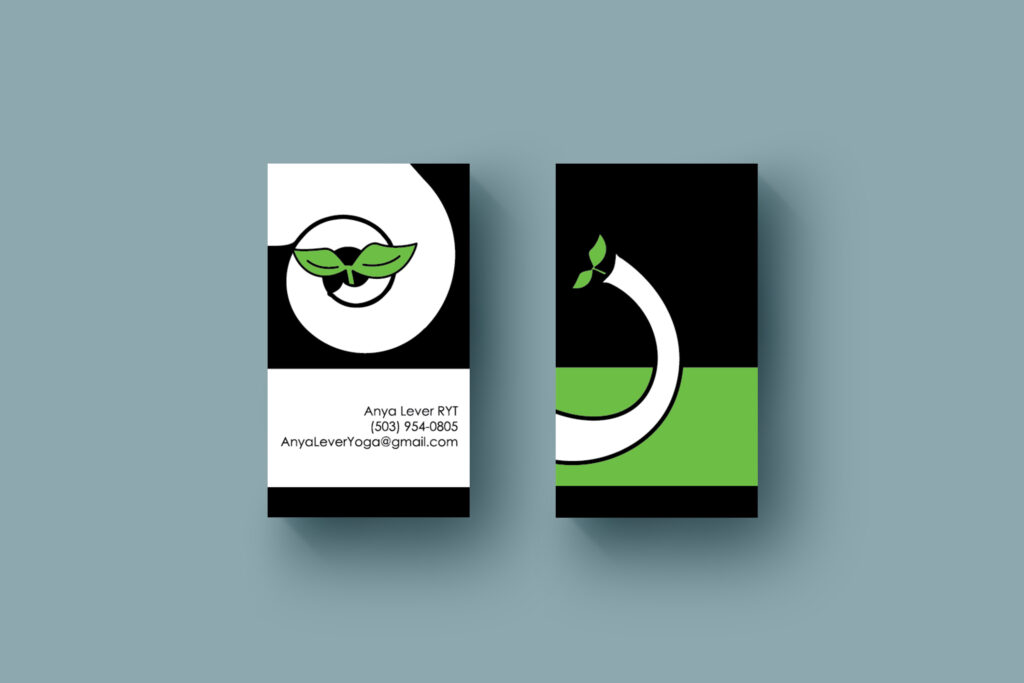 Private Yoga Instructor Business Card