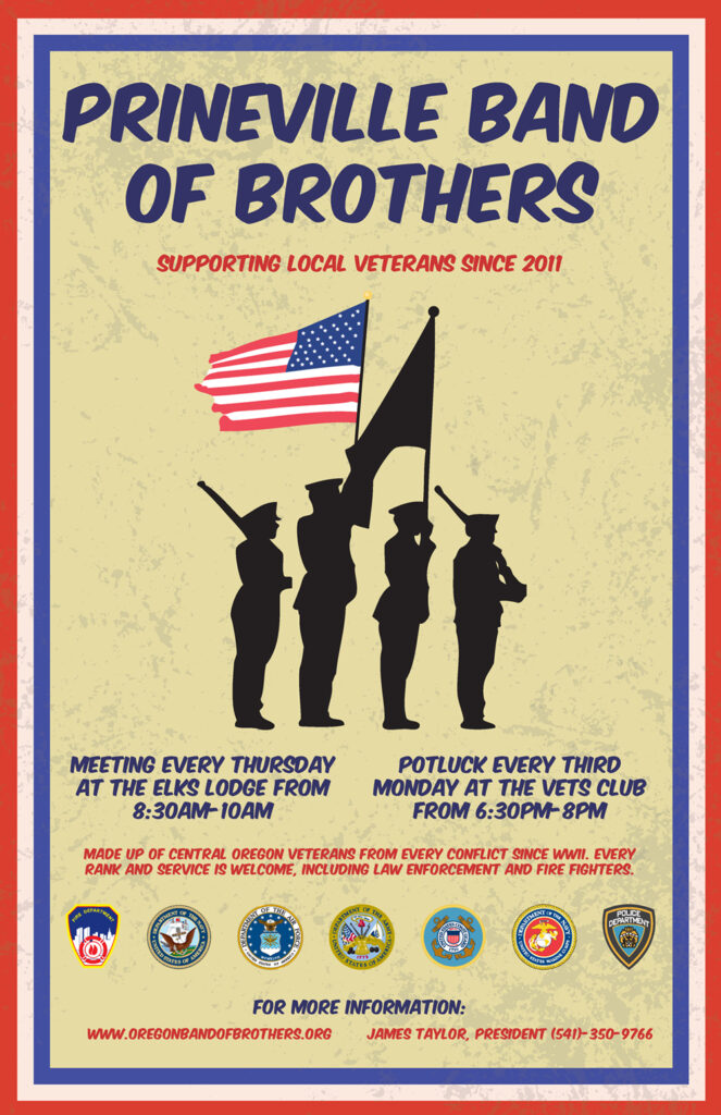Prineville Band of Brothers Poster