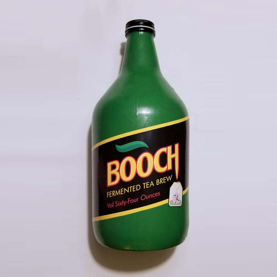 Booch Kombucha Package Design