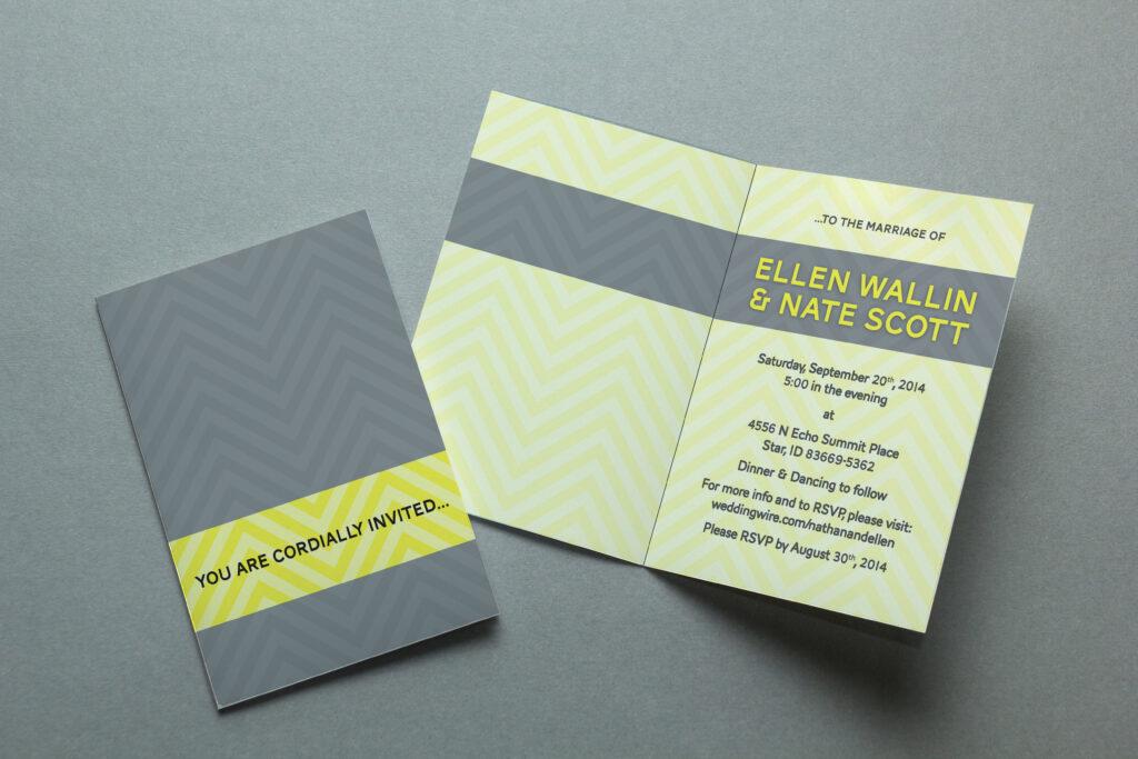 Ellen's Wedding Invites