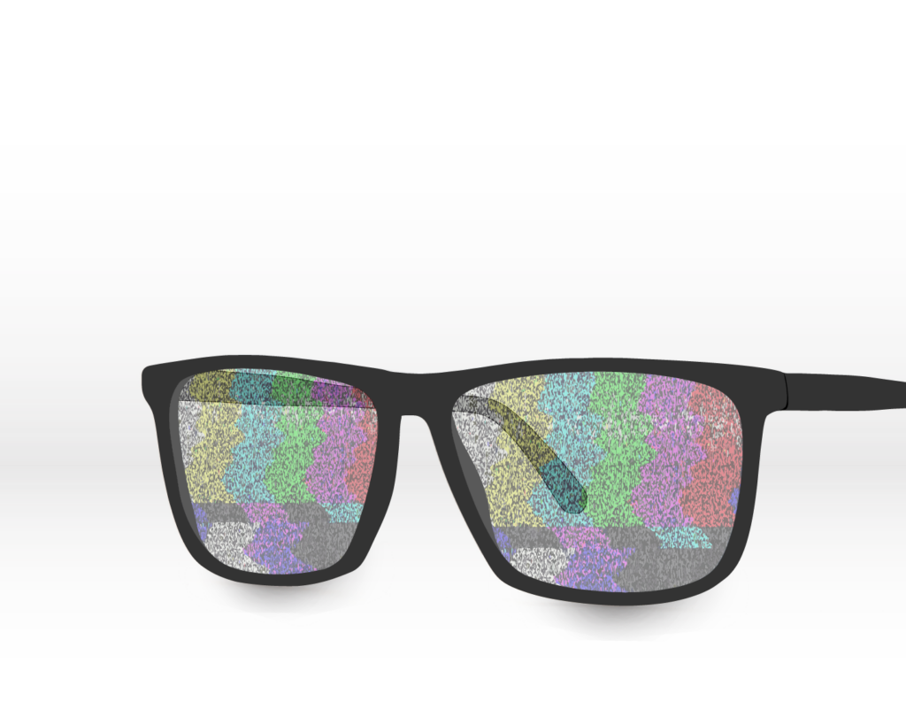 Static Glasses (digital art)