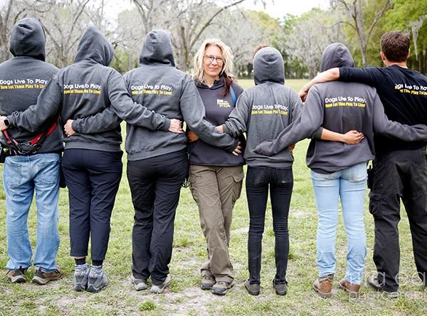 Aimee Sadler and DPFL Team Rita Earl
