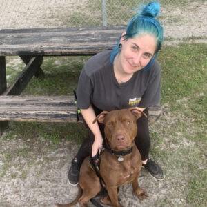 Amanda Lambert Canine Wellbeing Coordinator with Clyde DPFL