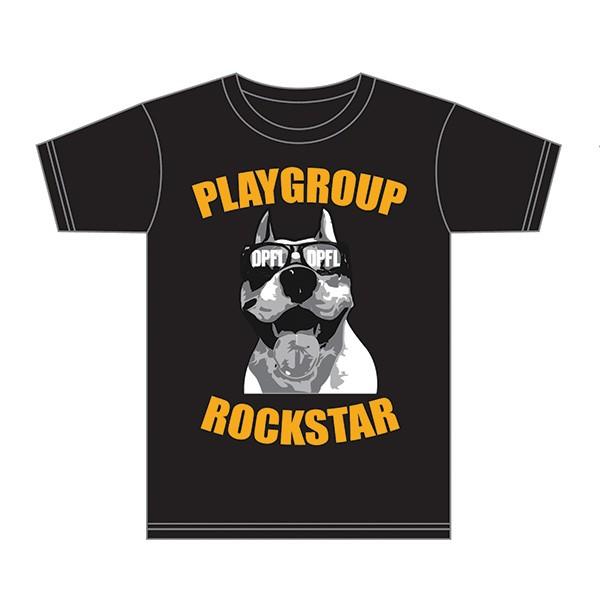 Playgroup Rockstar T-shirt Front