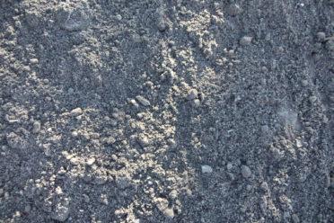 Mixed topsoil and peat