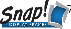 snap display frames logo