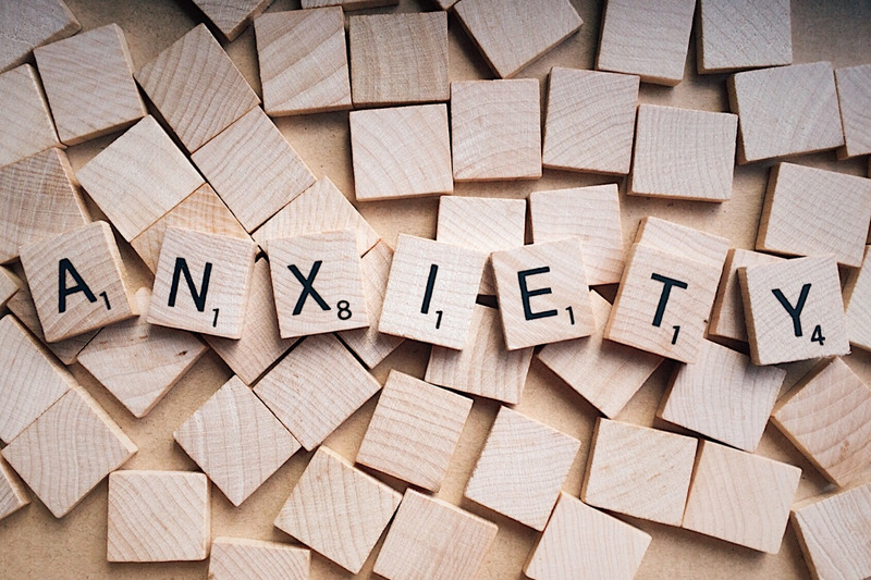 Canva - Word Anxiety Written on Wooden Scrabble Letters