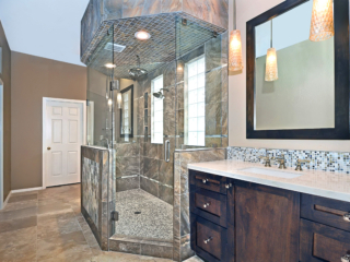 Natural Beauty bathroom remodel
