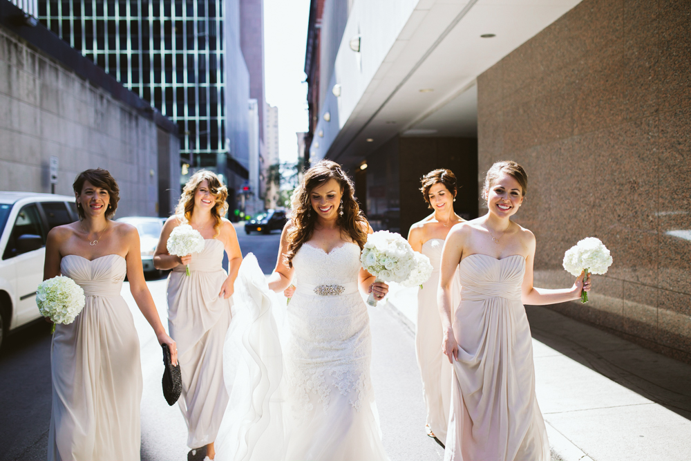 Bridesmaids in the City