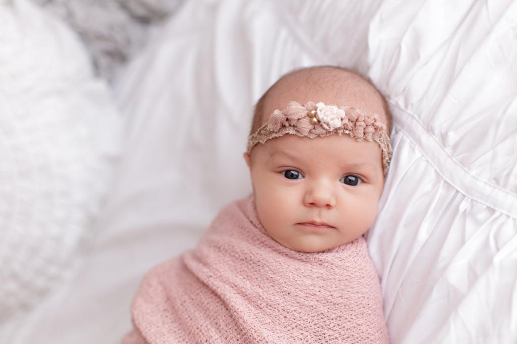 Baby Lainey Photoshoot with Headband