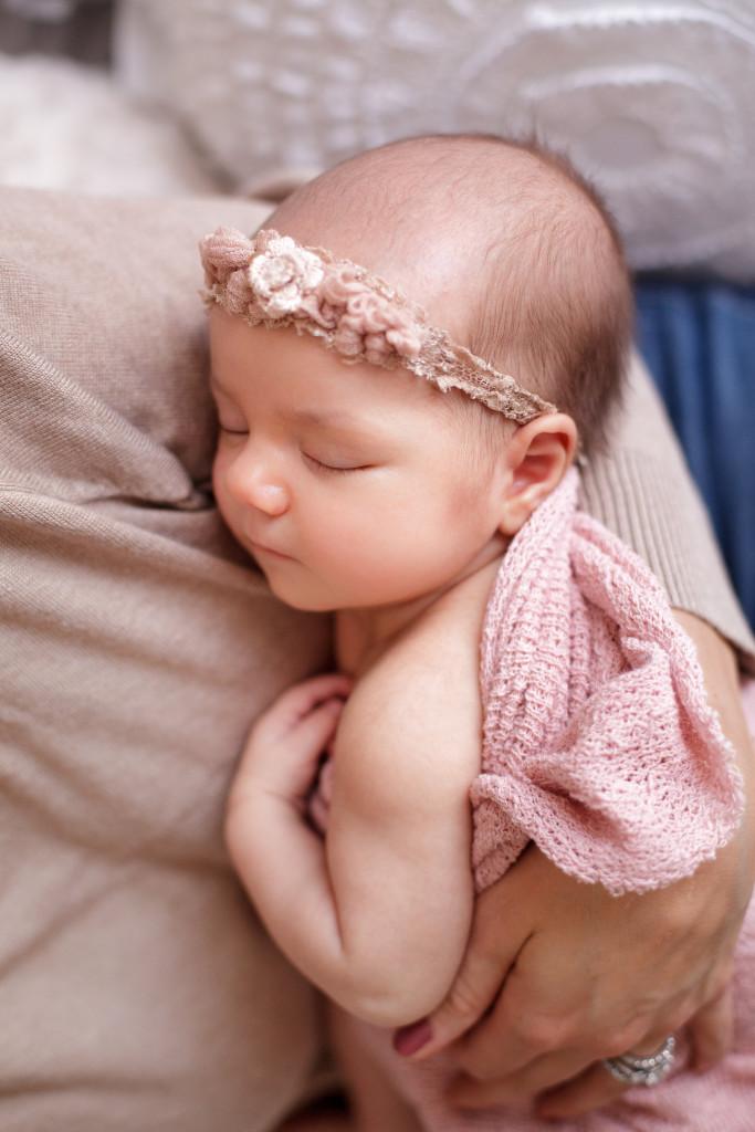 Baby Lainey Photoshoot Flower Headband