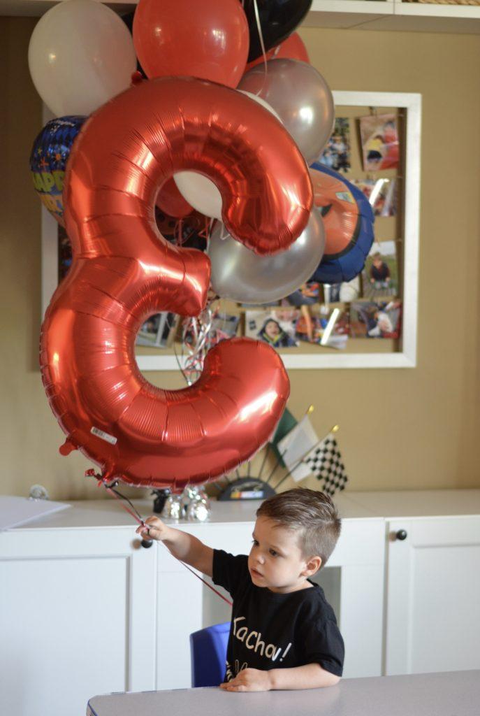 Big 3 balloon