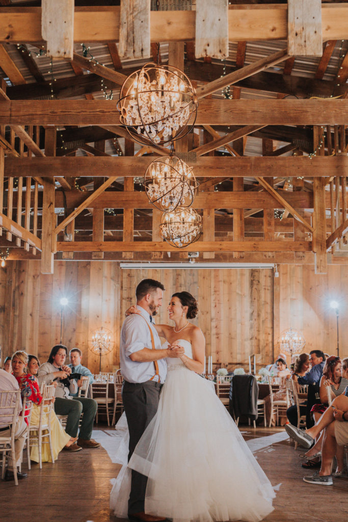 Jorgensen Farms, Farm Wedding, First Dance