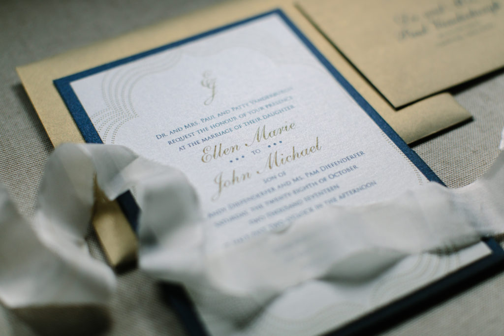 Detail Shot, Invitation Suite