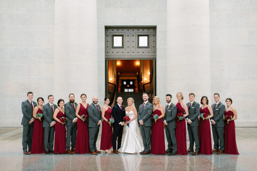 Wedding Party, The Ohio State House