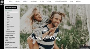 Riley and Grey Dashbaord