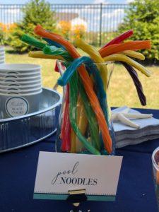 Pool noodle licorice