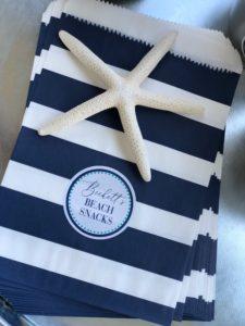 Beach gift bags