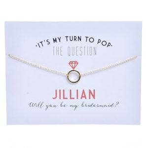 pop the question necklace