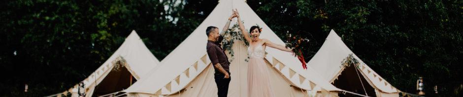 new outdoor wedding