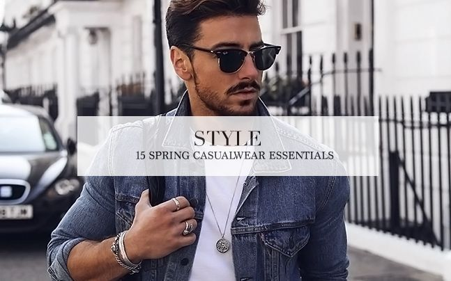 15 Spring Casualwear Essentials
