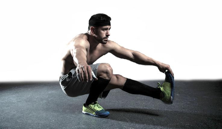 one leg squat