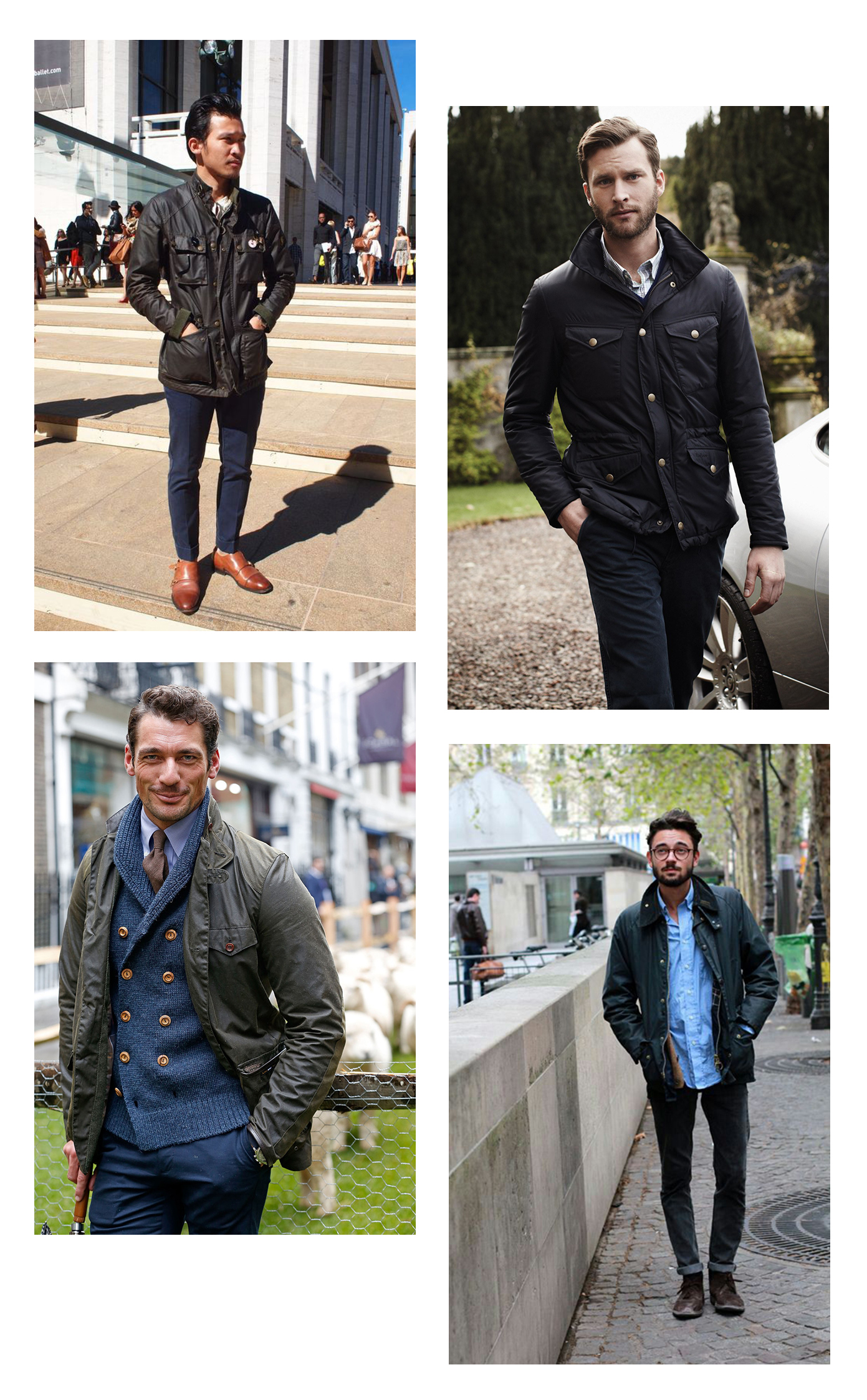 barbour smart-casual style