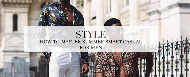 summer smart-casual for men