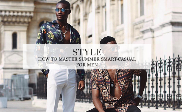 summer smart-casual for men
